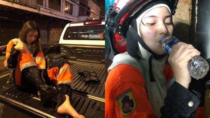 Viral Pemadam Kebakaran Cantik Bikin Gagal Fokus, Rela Korbankan Diri Demi Padamkan Api Tuai Pujian