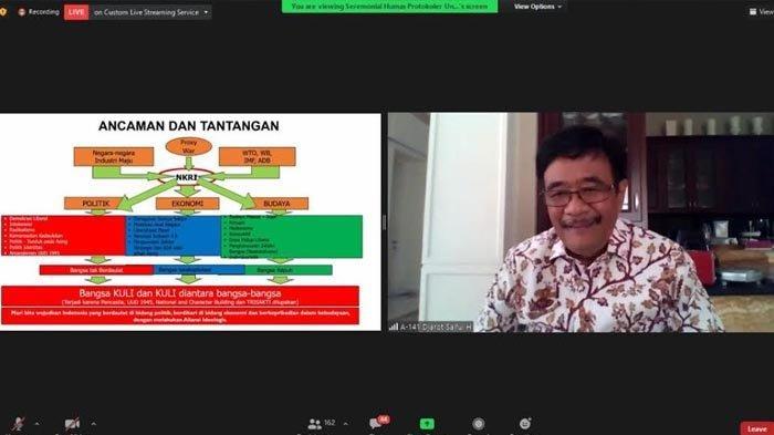 Peringati Bulan Bung Karno, Untag Surabaya Ajak Milenial Contoh Sosok Sang Proklamator