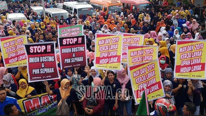 Ilustrasi - peringatan Hari Buruh