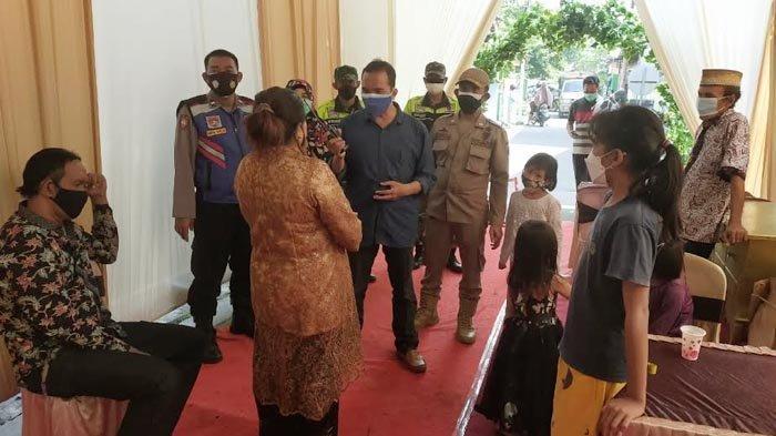 Masih Masa PPKM Darurat, Satgas Covid-19 Bubarkan Hajatan di Taman Sidoarjo