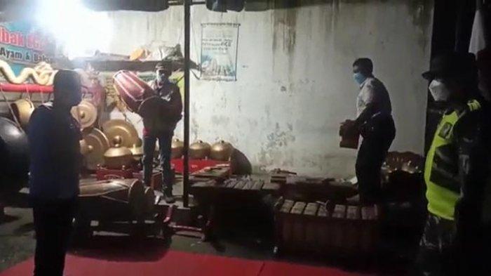Satgas Covid-19 Tuluangagung Bubarkan Pentas Wayang yang Digelar Anggota DPRD