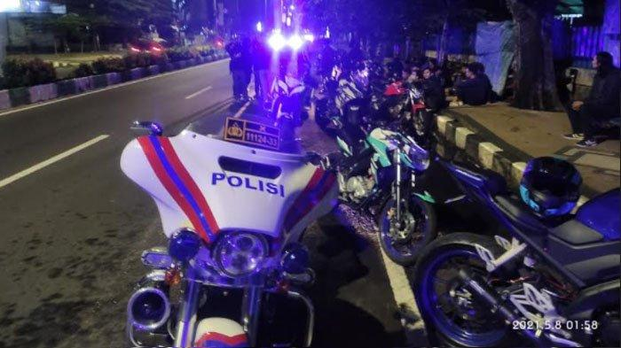 Hendak Balapan Liar, 16 Sepeda Motor Diamankan Satlantas Polresta Malang Kota