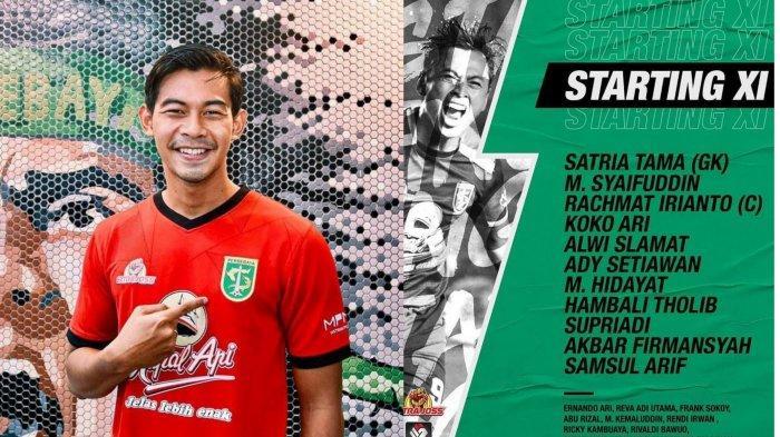 Susunan Pemain Persebaya Surabaya vs Madura United: Satria Tama Starter Lawan Mantan Tim