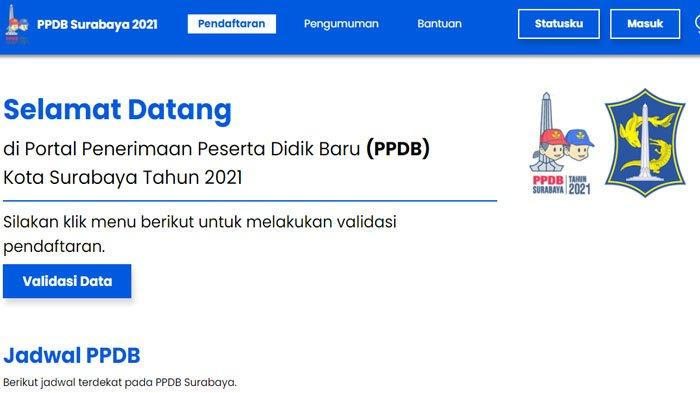 PPDB 2021 Kota Surabaya Dibuka 10 Juni 2021, Ini Rincian Pagu yang Tersedia