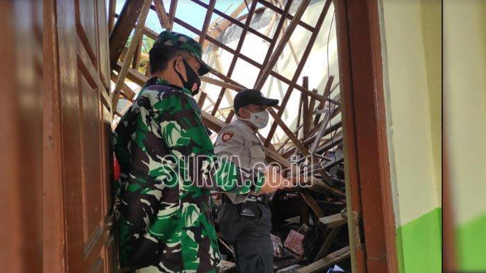 Atap SDN 1 Babadan Ponorogo Ambruk, Dinas Pendidikan Anggarkan Rp 380 Juta untuk Perbaikan