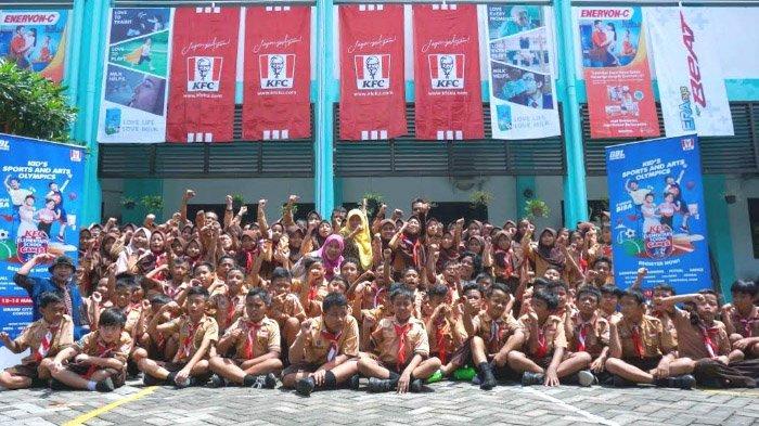 KFC Elementary School Games: Kembangkan Potensi sampai Borong Sembilan Kompetisi