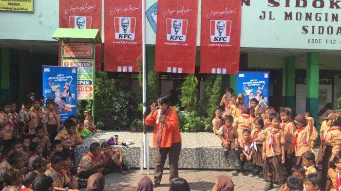 Roadshow KFC ESG- Pentingnya Melatih Sosialisasi Anak sejak Dini