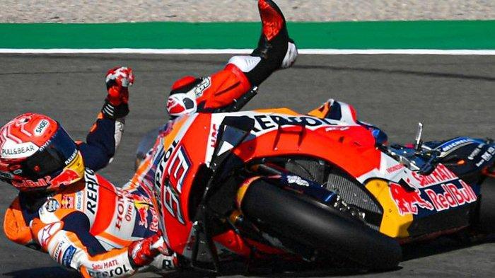 Sedang Berlangsung! Link Live Streaming MotoGP Valencia 2019 di Trans 7, Marquez Sempat Crash