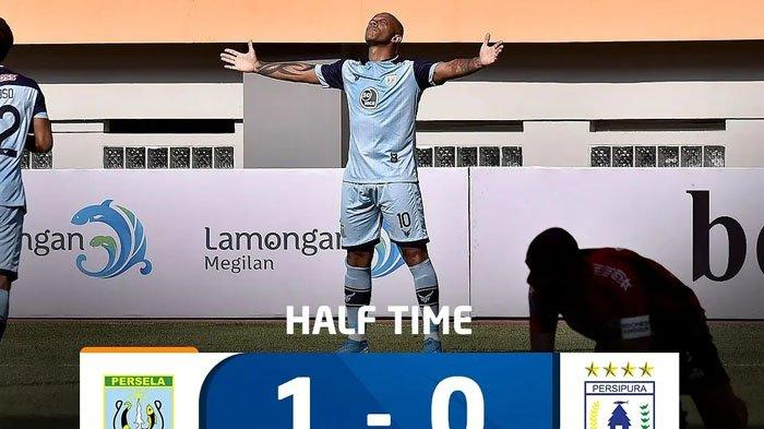 Hasil BRI Liga 1 Persela Vs Persipura 1 - 0, Ivan Carlos Bawa Persela ke Posisi Tujuh, Geser Arema