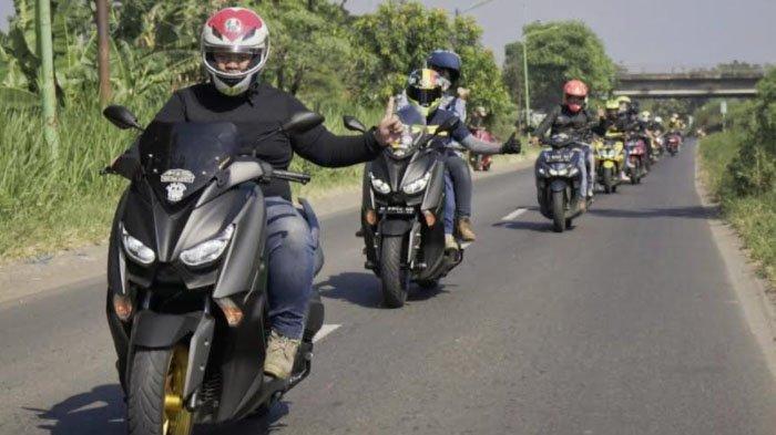Touring Naik NMAX Dijamin Nyaman Maximal