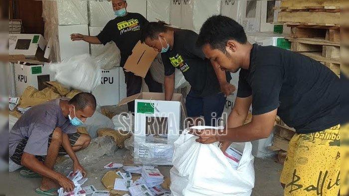 KPU Kota Blitar Lelang Bekas Surat Suara di Pemilu 2019