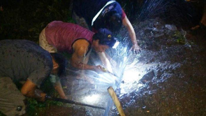 Warga Kutorejo Kabupaten Mojokerto Sambat Air PDAM Tidak Mengalir