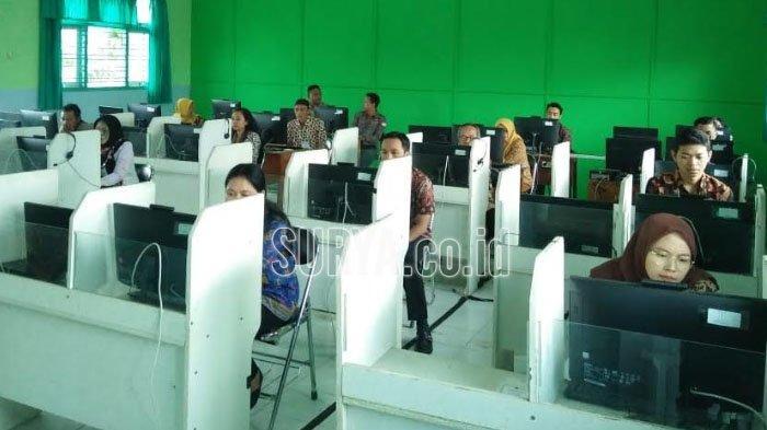 Tes Tulis Calon PPS Pilwali Kota Blitar 2020 Menggunakan Sistem CAT