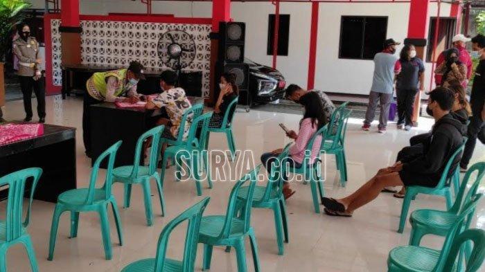 Razia Tempat Kos Kota Blitar, Petugas Gabungan Juga Temukan 2 Penghuni Reaktif Rapid Test