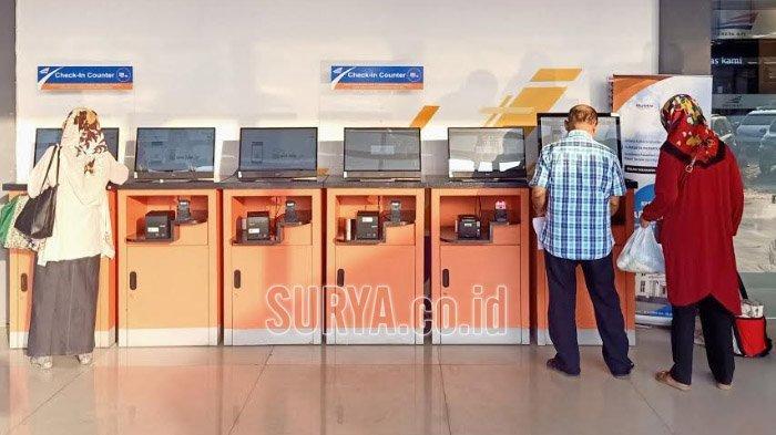 Dampak Virus Corona, 45.994 Lembar Tiket Kereta Api Dibatalkan Penumpang di Daop 8 Surabaya