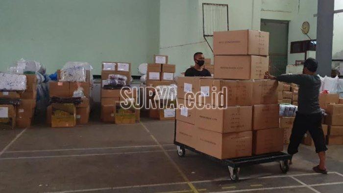 KPU Mojokerto Distribusikan Logistik Pilkada 2020, Mulai Perlengkapan TPS Hingga APD Prokes Covid-19