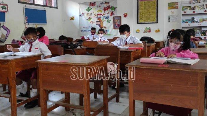 Evaluasi Pembelajaran Tatap Muka di Kota Blitar, Satgas Sekolah Diminta Perketat Pengawasan Prokes