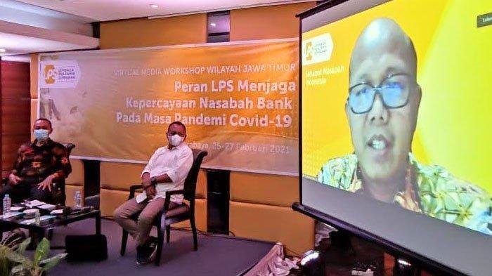 Bareng Media, LPS Sosialisasi Syarat Pejaminan Simpanan di Surabaya