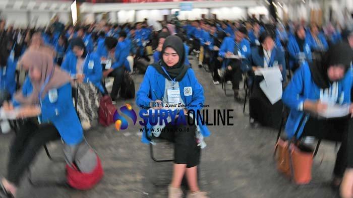 Galeri Foto Seleksi Djarum Beasiswa Plus 2019 yang Diikuti 500 Mahasiswa Surabaya
