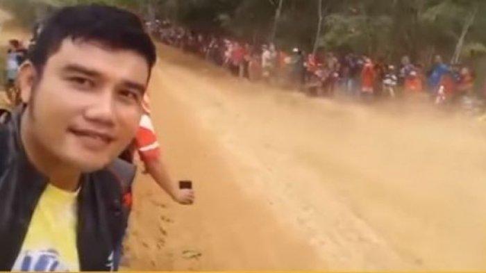 VIDEO - Tragis, Niat Hati Selfie di Arena Balap Malah Berujung Maut