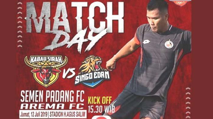 Prediksi Liga 1 Pekan Ke-8 Semen Padang Vs Arema FC: Tuan Rumah Bertekad Tak Kecewakan Suporter