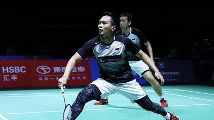 Ahsan/Setiawan, wakil Indonesia di semifinal BWF World Tour Finals 2020
