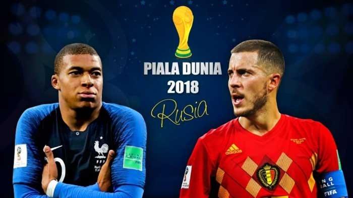 Jadwal Prancis vs Belgia Semifinal Piala Dunia 2018 - Kedua Tim Kantongi Modal Tak Terkalahkan