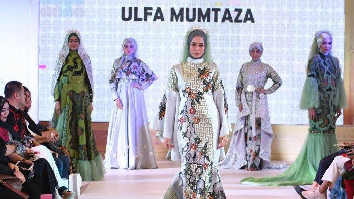 Gaun Pengantin Perpaduan Batik Madura dan Potongan Ballgown Persembahan Desainer Ulfa Mumtaza