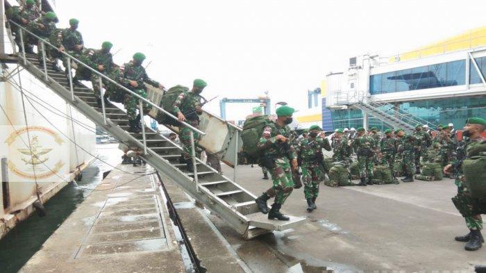 Sempat Digempur KKB Papua Habis-habisan, Pasukan TNI 'Kala Hitam' Akhirnya Kembali Pulang ke Subang