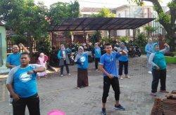 Tetap Sehat dengan Senam Bersama di SDN Magersari 2 Kota Mojokerto