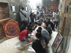 Seni Kolektif di Gedung Tua Nganjuk