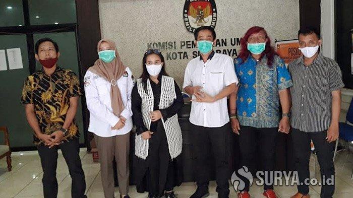 Kelompok Seniman dan Anggota Dewan di Surabaya Ajak Masyarakat Jangan Golput