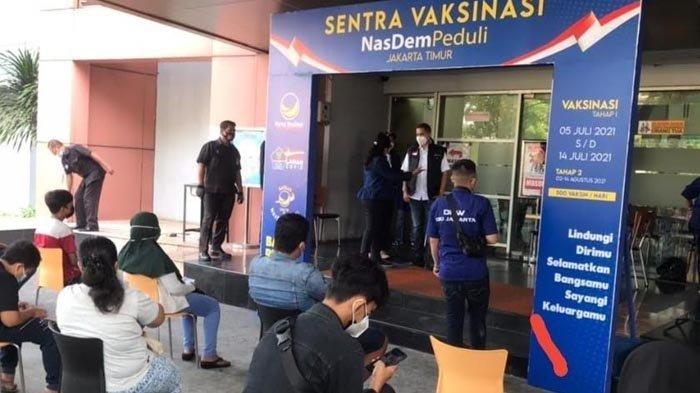 Partai NasDem Jatim Bakal Siapkan Sentra Vaksinasi Covid-19 di Daerah
