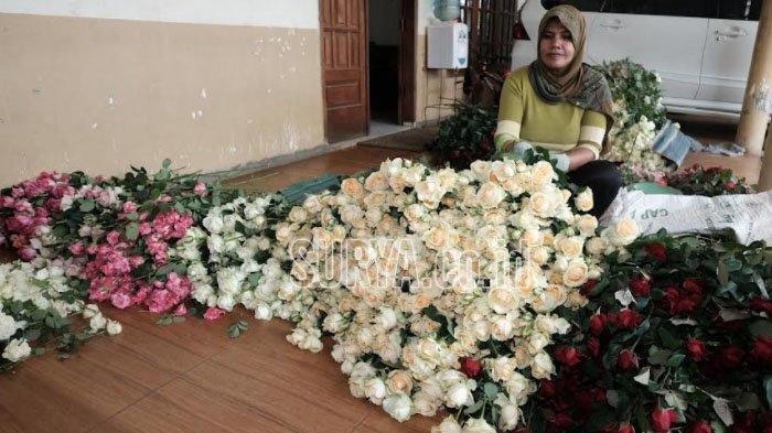Bisnis Bunga di Kota Batu Kembali Bergeliat saat Kasus Covid-19 Mulai Menurun