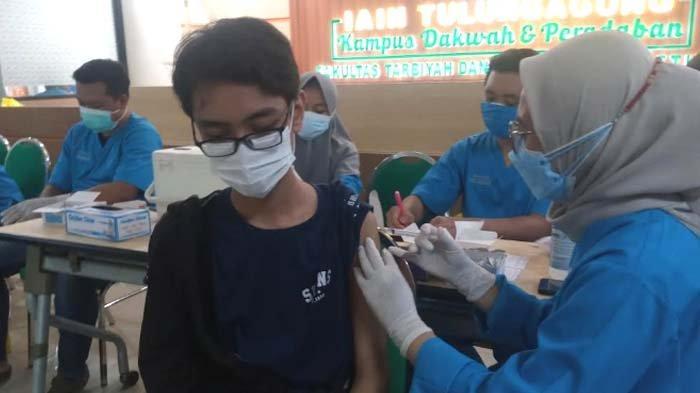 Tulungagung masih di Level 3 PPKM Berdasarkan Imendagri, Capaian Vaksinasi Dosis 1 Baru 37,71 Persen