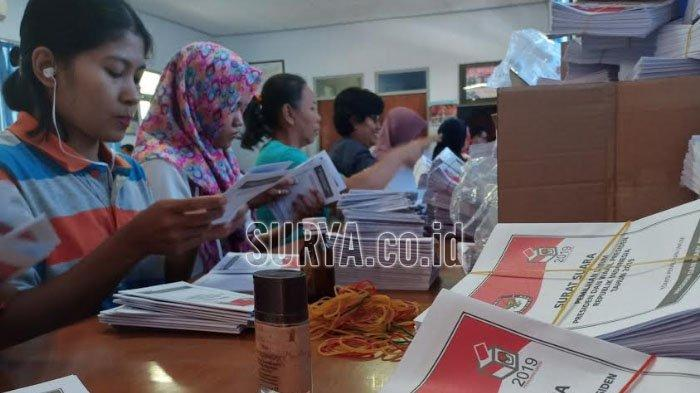 2.410 Lembar Surat Suara Pemilu 2019 untuk Kota Madiun Rusak