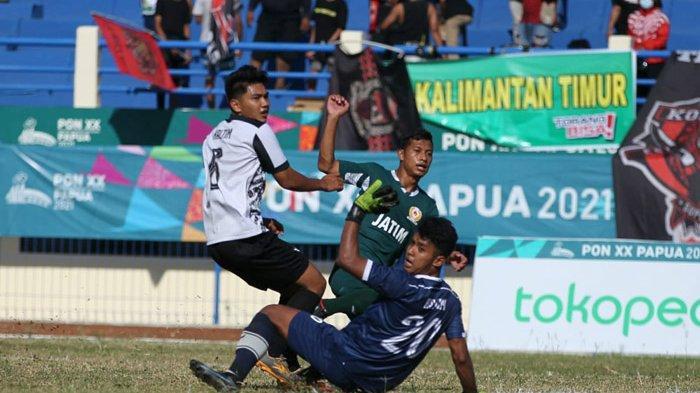 Sepak Bola PON XX Papua 2021 - Jatim Sudah Lolos Semifinal dan Tekad Singkirkan Jabar