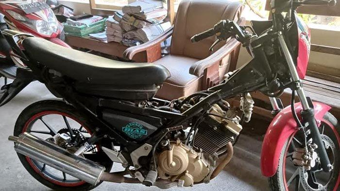 Konyol, Pencuri di Tulungagung Menggondol Honda Vario dan Meninggalkan Suzuki Satria