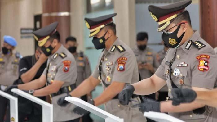 Jabatan 6 Kapolres di Jatim Berganti, Ini Wejangan Kapolda Irjen Nico untuk Para Kapolres Baru
