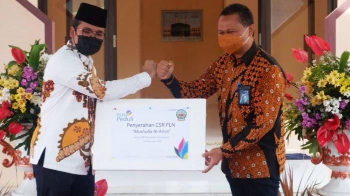 Peduli Masyarakat Bangkalan, PLN UIP JBTB I Bangun Musala Al Amin di Sentra IKM