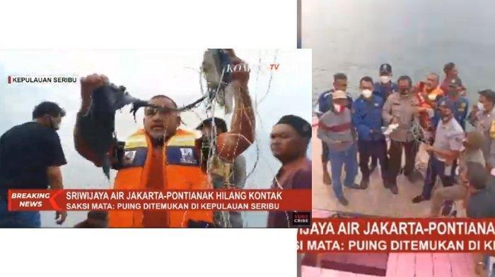 Pesawat Sriwijaya Air SJ182 Diduga Jatuh di Kepulauan ...