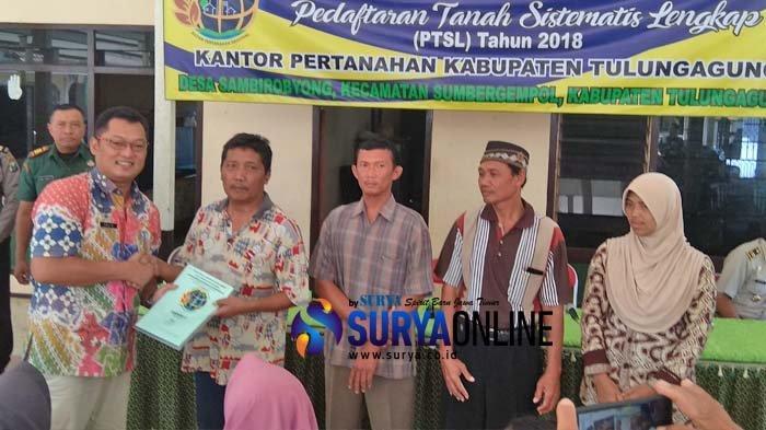 Warga Desa Sambirobyong Tulungagung Minta Penegak Hukum Usut Dugaan Pungli Program PTSL