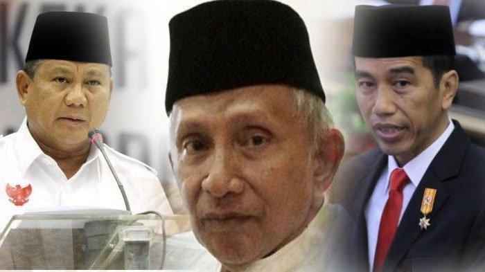 RESTU Amien Rais untuk Prabowo Jabat Menhan dan Bikin Perhitungan dengan Kabinet Jokowi Nanti