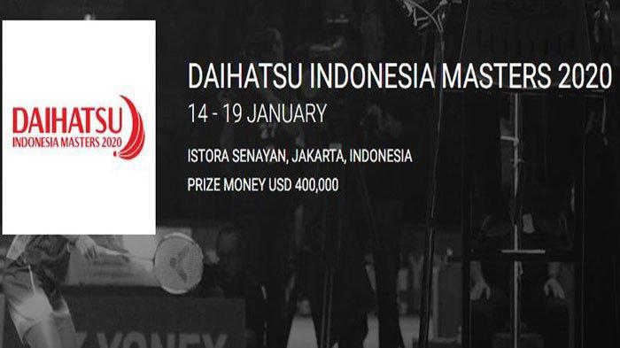 Setelah BWF World Tour Finals 2019, Inilah Daftar Wakil Merah Putih yang Ikut Indonesia Masters 2020