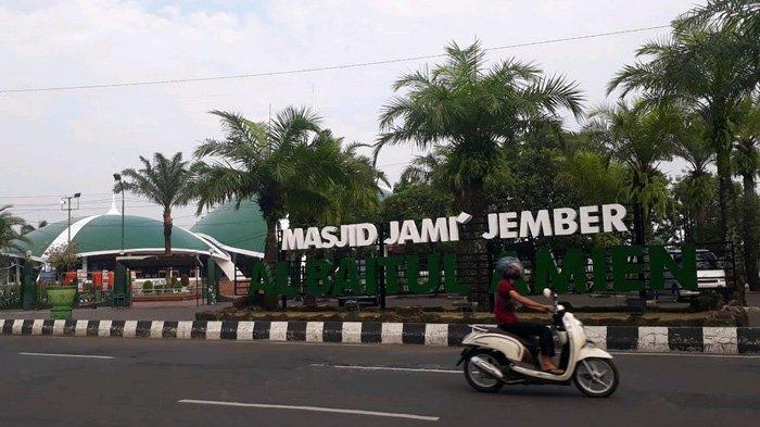 Shalat Ied di Masjid Jami' Al Baitul Amien Jember Tak Dibatasi, Tetapi Cegah Jamaah Meluber ke Jalan