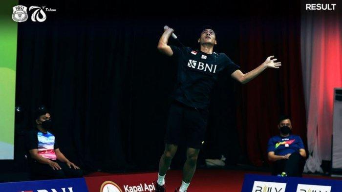 Shesar Hiren Rustavito berhasil menjadi pahlawan kemenangan Indonesia atas Thailand di Thomas Cup 2020, Senin (11/10/2021)