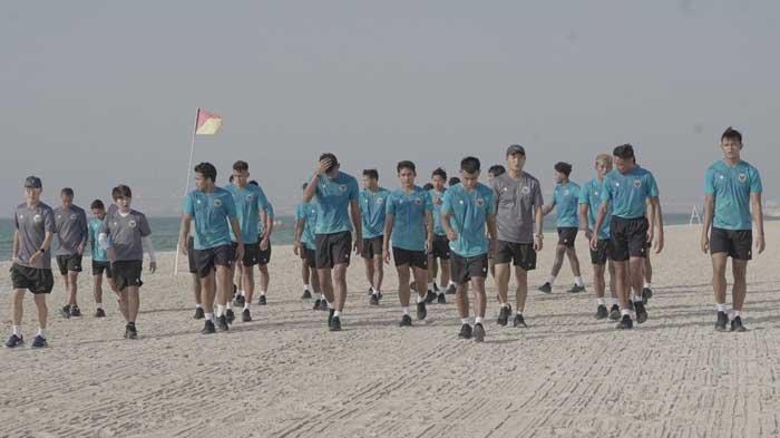 Melihat Latihan Timnas Indonesia di Uni Emirat Arab Siapkan Laga Kualifikasi Piala Dunia 2022