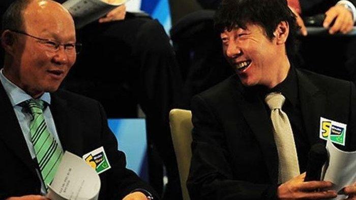 Fakta Pertemuan Shin Tae-yong dan Park Hang-seo Panaskan Laga Timnas Indonesia vs Vietnam