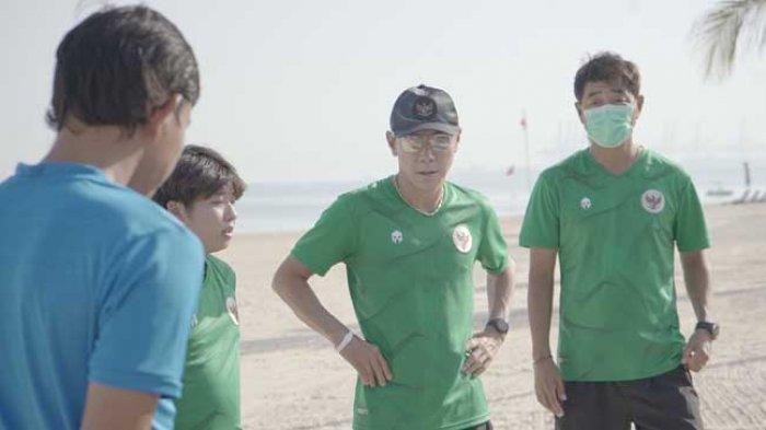 Shin Tae-yong terus melakukan pembenahan Timnas Indonesia.