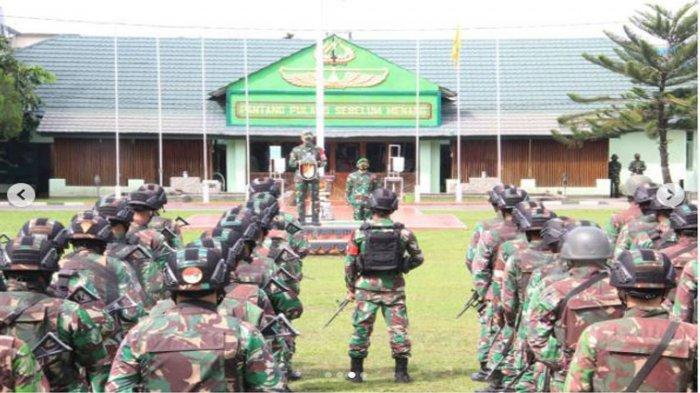 Siap Diterjunkan ke Daerah KKB Papua, Pasukan Yonif 751/VJS Kostrad Gelar Latihan di Bulan Ramadan